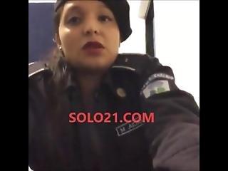 X-policia Mexicana Nidia Garcia Se Desnuda Desde Su Hogar Con Uniforme Policial