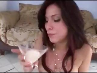 Good Girl Drinks Cum 4