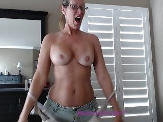 mature, milf, modèle, strip tease, embêter, webcam