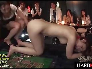 Bigtit Japanese Babe Humiliated In Casino