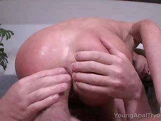 anal, éjaculation, star du porno, brusque, sexe, jeune
