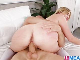 Blonde Cutie Ally Kay Is A Penis A Holic