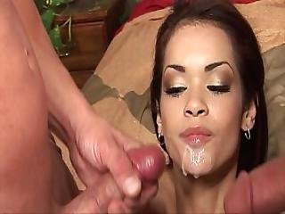 Sexy Latin Slut Daisey Marie Satisfy 2 Dicks At Once