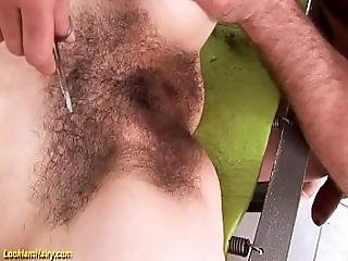 Extreme Hairy Teen Shaved And Fucked
