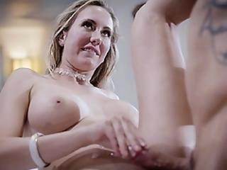 Big Tittied Secretary Brett Rossi Creampied By Her Boss Derrick