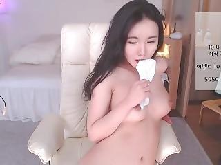 aziatisch, koreaans, masturbatie, solo, webcam