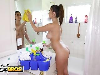 Bangbros - Carrie Brooks Is A Pretty, Young Maid With A Beautiful Ass