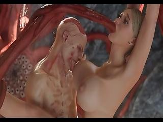3d Big Titted Young Girls Getting Demolished By Disgusting Monstrous Creatures Like Zombies, Tentacles And Aliens!