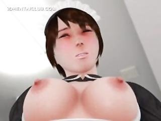 Anime Anime Maiden Pussy Fingered Gives Blowjob