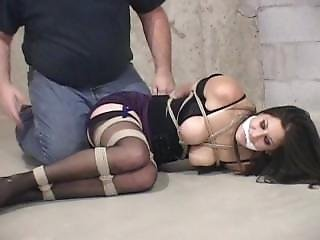 Marie Tied In The Basement