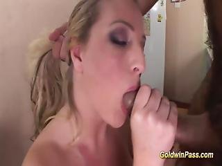 Babe With Braces Gets Ass Fucked