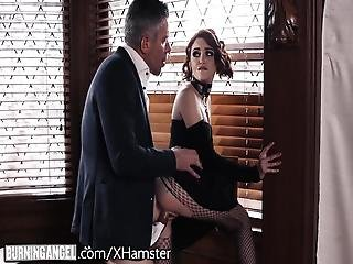 Goth Masturbating In Detention Is Anally Punished