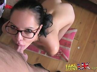 Fakeagentuk Awesome Blowjob Skills Shown By Hungarian Babe In Casting