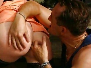 French Naughty Wife fucked by 2 guys