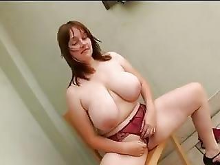 Big Breasted Bbw Sucks And Fucks Hard Cock