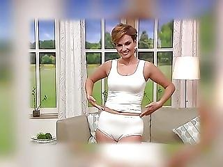 Mature Model Cameltoe On Tv Shop Underwear