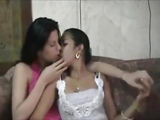 Hinduska, Lesbijka, Lizanie, Cipka, Wylizać