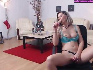 Panties On Dildo In
