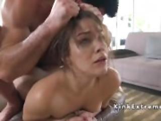 Big cock lawyer dominates hot babe