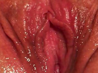 Soaking Wet Pussy Right After Orgasm