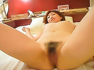 Kaori Removes Her Red Undies And Gets On Fucking Hard