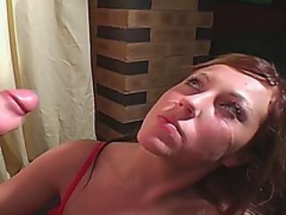 Insatiable Slut Gets Down For Her Long Craved Cumshot