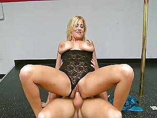 Mature, Milf, Pole