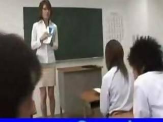 Asian Teacher Class Fucking 1