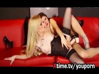 Awesome Lesbian Sex Hot Blonde Nasty Russian Girl