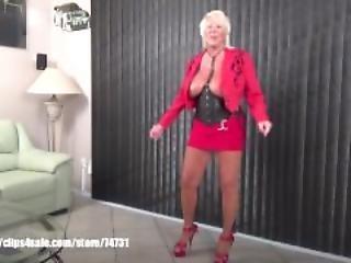 Sexy Granny Mandi McGraw Talking About Spicypassions