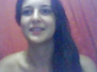 Amateur, Babe, Brasileños, Adolescente, Camara Del Internet
