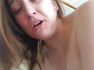 Hot Fiance Rides And Cums Hard