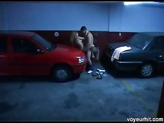 Parking Garage Fuck