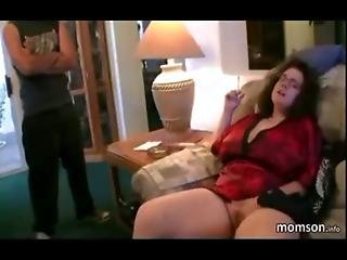 Busty Chubby Mom Getting Fucked By Her Son