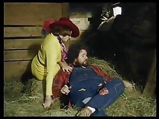 Chubby Guy Got Suck In The Barn