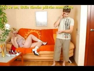 Slideshow With Finnish Captions: Mom Silvia 1