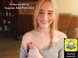 My Stepsister Showing Me Her Pussy Through Webcam