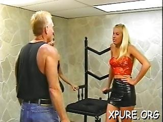 Domina Makes His Face A Chair