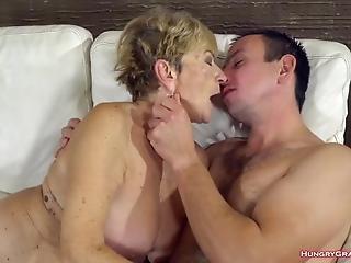 Fucking A Super Hot Granny
