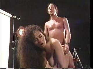 Classic Busty Cougar Keisha Doggy Banged