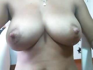 Meaty Big Nipples On Nice Tits With A Bit Of Milk. Jina Live On 720cams.com