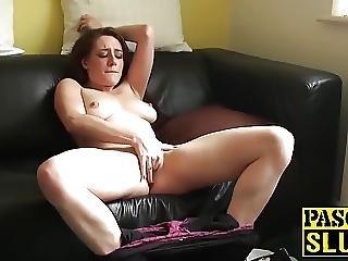 Horny Samantha Is A Naughty Slut Who Loves Masturbating
