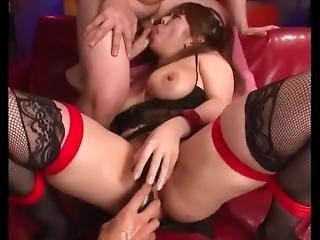 Japanese Squirter Orgy