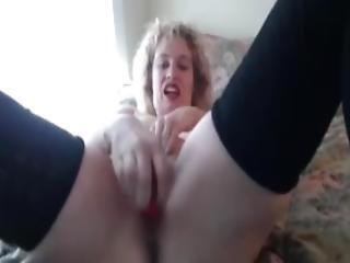 szõke, krém, milf, nyögés, orgazmus, kicsi, borotvált, hergelés