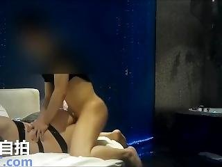 Chinese Model Caught On Cam In A Hotel Room.