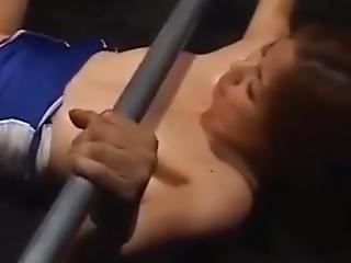 Guy Sticks Head Up Girls Fucking Ass Very Good