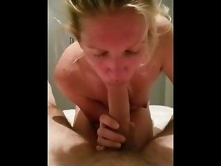 Celeste Penny Giving Me A Blow Job