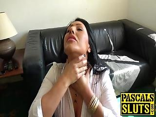 Submissive Bimbo Punished With Big Dick Pussy Drilling