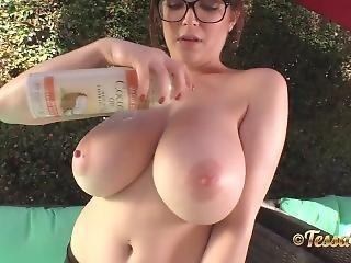 Tessa Fowler Bikini Lounge 2