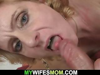 blond, sperm, exgf, hardcore, hott mor, voksent, mor, virkelighet, små pupper